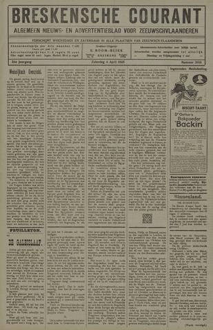 Breskensche Courant 1925-04-04