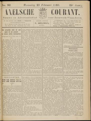 Axelsche Courant 1910-02-23