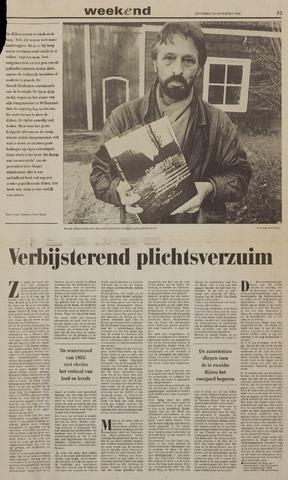 Watersnood documentatie 1953 - kranten 1992-11-28