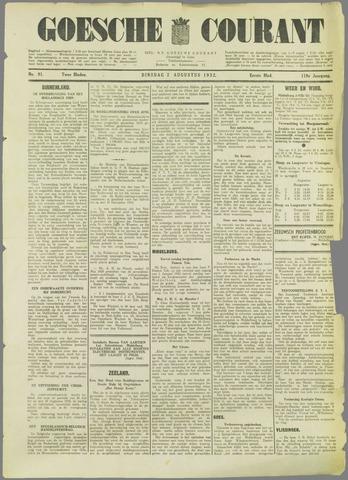 Goessche Courant 1932-08-02