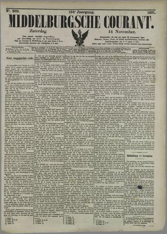 Middelburgsche Courant 1891-11-14