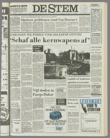 de Stem 1986-01-16