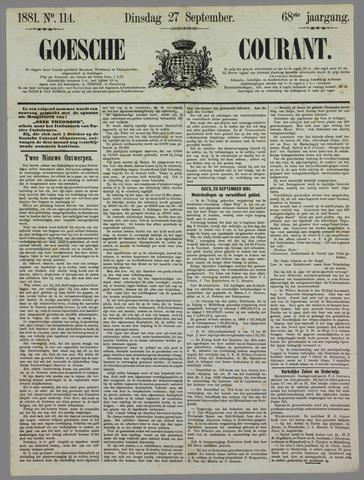 Goessche Courant 1881-09-27