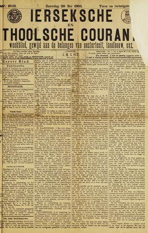Ierseksche en Thoolsche Courant 1905-05-20