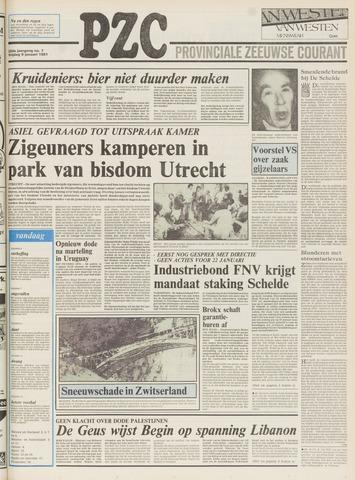 Provinciale Zeeuwse Courant 1981-01-09