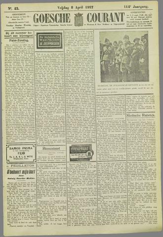 Goessche Courant 1927-04-08
