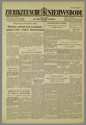 Zierikzeesche Nieuwsbode 1959-09-22