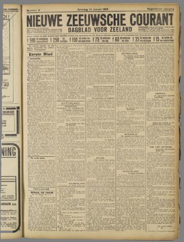 Nieuwe Zeeuwsche Courant 1923-01-13