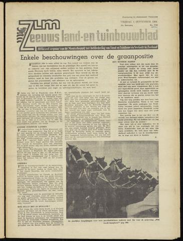 Zeeuwsch landbouwblad ... ZLM land- en tuinbouwblad 1964-09-04