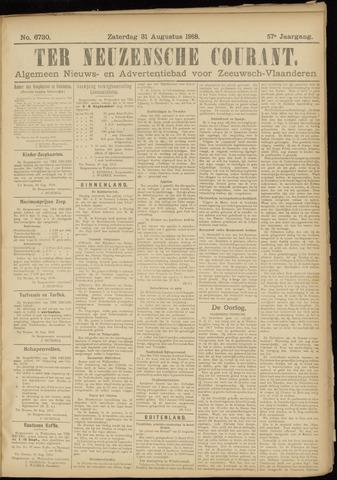 Ter Neuzensche Courant. Algemeen Nieuws- en Advertentieblad voor Zeeuwsch-Vlaanderen / Neuzensche Courant ... (idem) / (Algemeen) nieuws en advertentieblad voor Zeeuwsch-Vlaanderen 1918-08-31