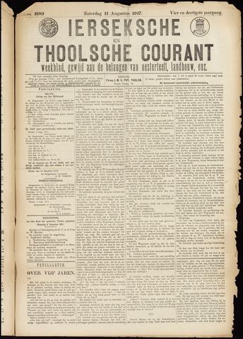 Ierseksche en Thoolsche Courant 1917-08-11