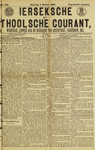 Ierseksche en Thoolsche Courant 1901-10-05