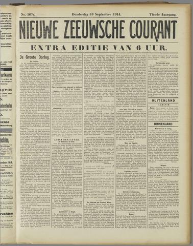 Nieuwe Zeeuwsche Courant 1914-09-10