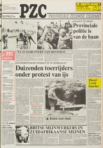 Provinciale Zeeuwse Courant 1985-02-22