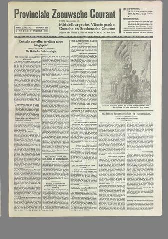 Provinciale Zeeuwse Courant 1940-10-08