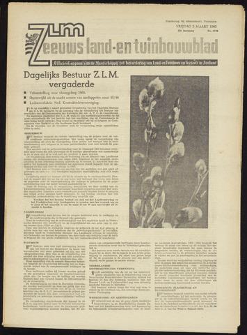 Zeeuwsch landbouwblad ... ZLM land- en tuinbouwblad 1965-03-05