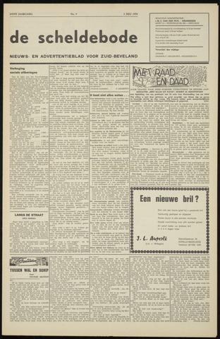 Scheldebode 1970-07-03