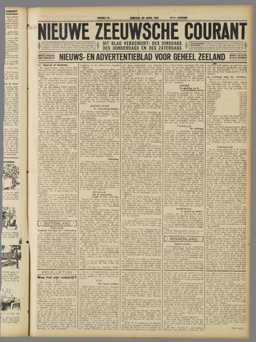 Nieuwe Zeeuwsche Courant 1931-04-28