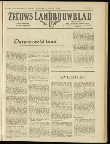 Zeeuwsch landbouwblad ... ZLM land- en tuinbouwblad 1960-08-20
