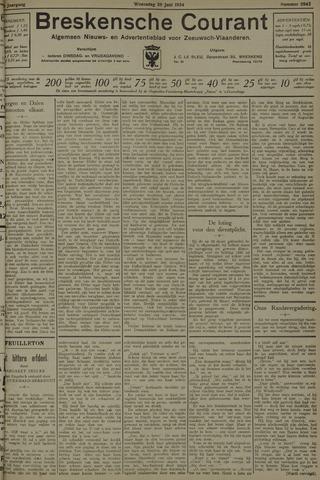 Breskensche Courant 1934-06-20