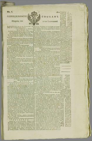 Middelburgsche Courant 1810