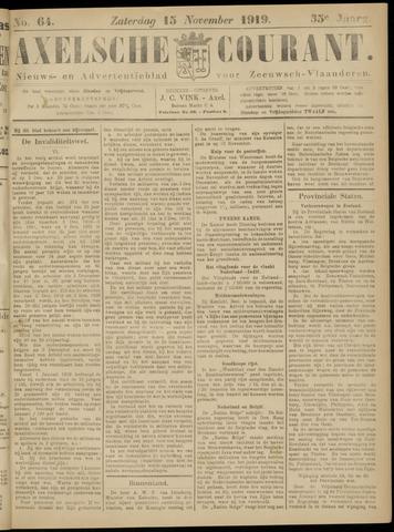 Axelsche Courant 1919-11-15