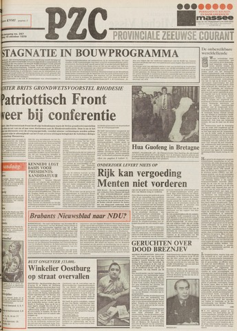 Provinciale Zeeuwse Courant 1979-10-19