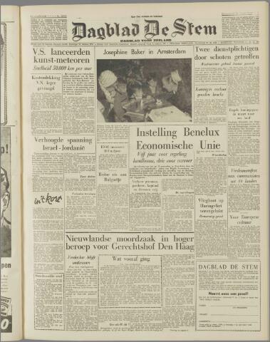 de Stem 1957-11-23