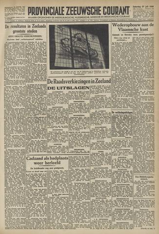 Provinciale Zeeuwse Courant 1946-07-27
