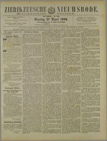 Zierikzeesche Nieuwsbode 1906-03-27