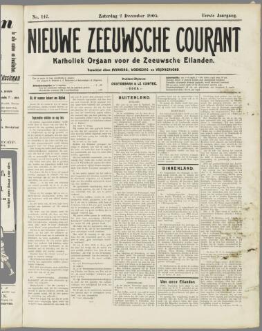 Nieuwe Zeeuwsche Courant 1905-12-02