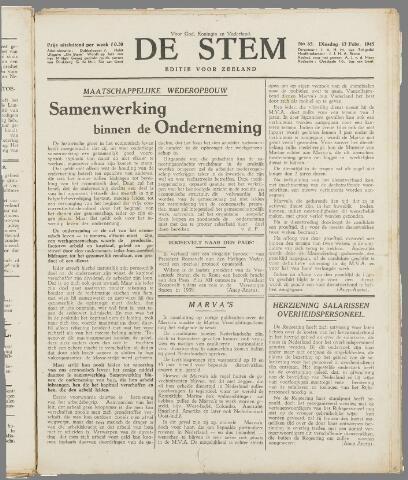 de Stem 1945-02-13