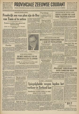Provinciale Zeeuwse Courant 1952-12-11