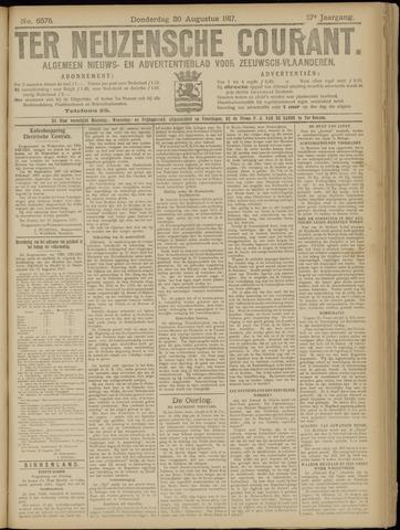 Ter Neuzensche Courant. Algemeen Nieuws- en Advertentieblad voor Zeeuwsch-Vlaanderen / Neuzensche Courant ... (idem) / (Algemeen) nieuws en advertentieblad voor Zeeuwsch-Vlaanderen 1917-08-30