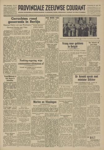 Provinciale Zeeuwse Courant 1949-04-20