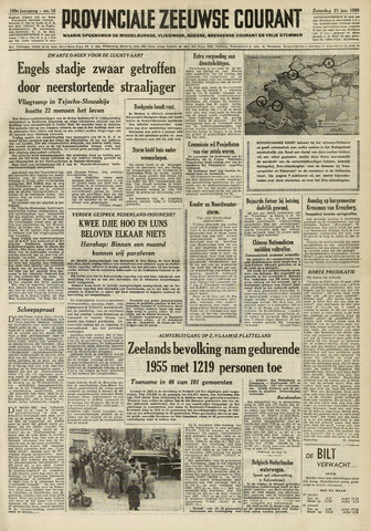 Provinciale Zeeuwse Courant 1956-01-21