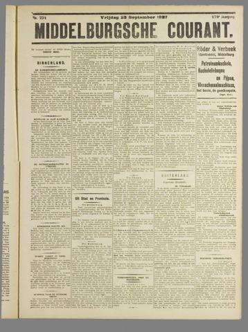 Middelburgsche Courant 1927-09-23