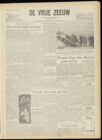 de Vrije Zeeuw 1956-11-24