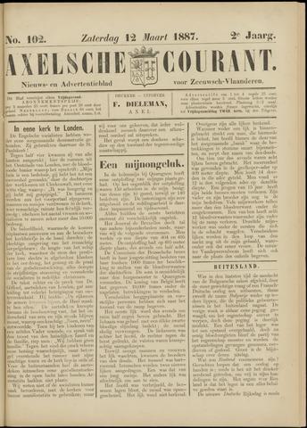 Axelsche Courant 1887-03-12