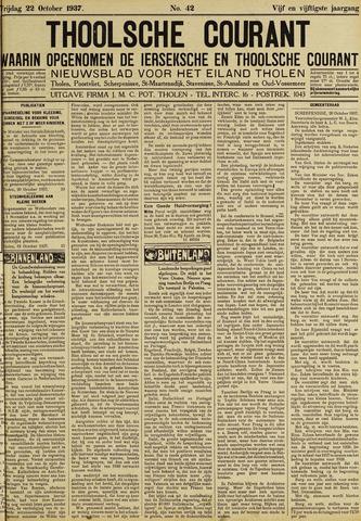 Ierseksche en Thoolsche Courant 1937-10-22