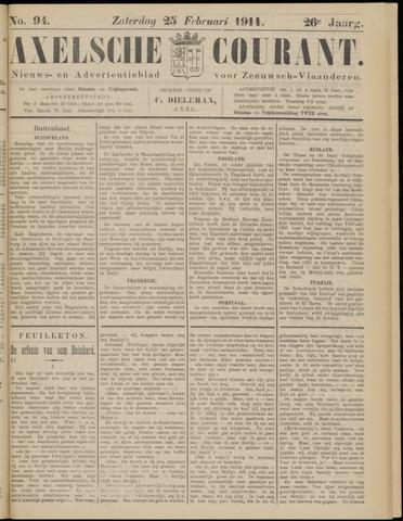 Axelsche Courant 1911-02-25