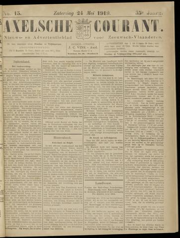 Axelsche Courant 1919-05-24