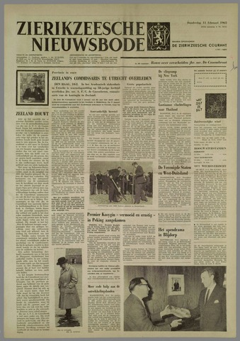 Zierikzeesche Nieuwsbode 1965-02-11