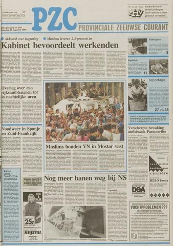 Provinciale Zeeuwse Courant 1993-08-28