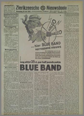 Zierikzeesche Nieuwsbode 1932-07-20