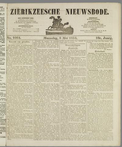 Zierikzeesche Nieuwsbode 1854-05-08