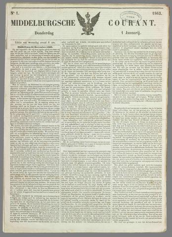 Middelburgsche Courant 1863