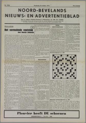Noord-Bevelands Nieuws- en advertentieblad 1972-10-26