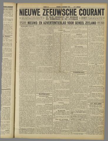 Nieuwe Zeeuwsche Courant 1925-11-03