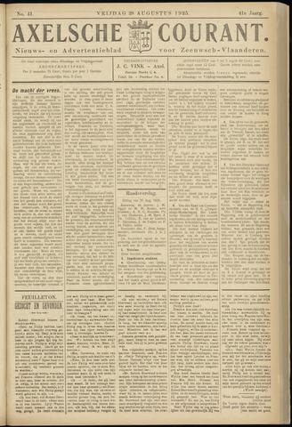 Axelsche Courant 1925-08-28